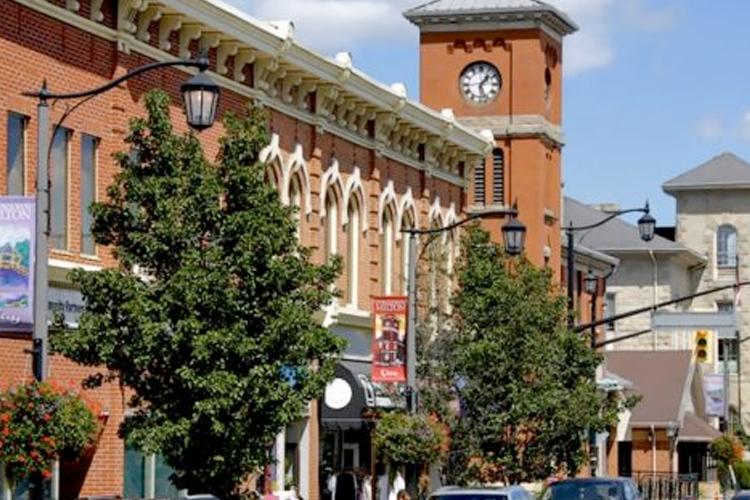 Downtown Milton Ontario